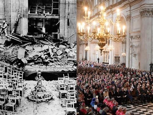 7 kiến trúc nổi tiếng thế giới đã được xây dựng lại sau khi bị phá hủy hoàn toàn - Ảnh 4.
