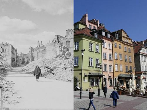 7 kiến trúc nổi tiếng thế giới đã được xây dựng lại sau khi bị phá hủy hoàn toàn - Ảnh 5.
