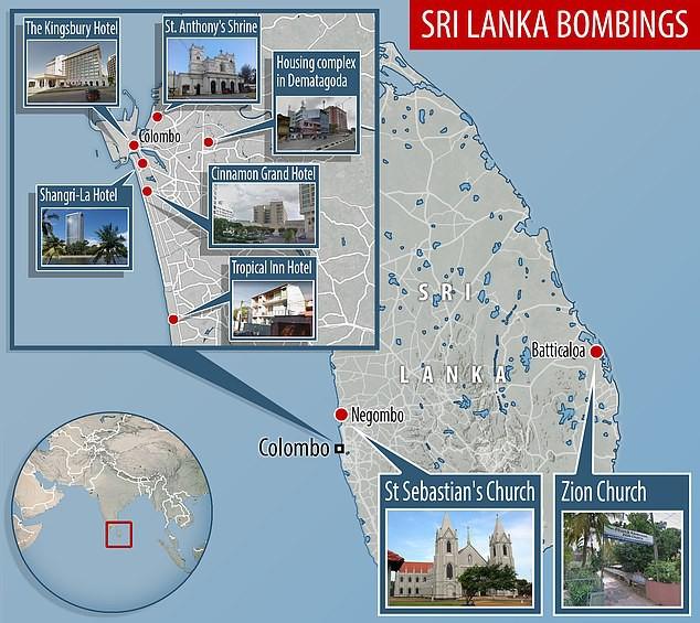Thảm sát kinh hoàng ở Sri Lanka: Đòn thù đầu tiên từ chiến dịch trả thù toàn cầu của IS? - Ảnh 1.