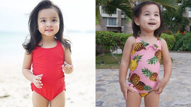 Con gái đầu lòng của mỹ nhân đẹp nhất Philippines càng lớn càng xinh đẹp, mới hơn 3 tuổi đã được dự đoán là Hoa hậu tương lai - Ảnh 2.