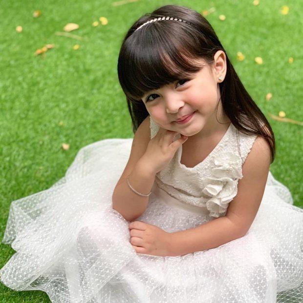 Con gái đầu lòng của mỹ nhân đẹp nhất Philippines càng lớn càng xinh đẹp, mới hơn 3 tuổi đã được dự đoán là Hoa hậu tương lai - Ảnh 4.