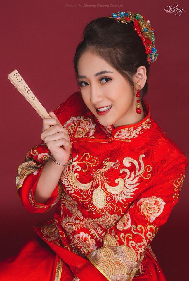 Nhan sắc cô gái thay thế hot girl Trâm Anh thủ vai chính sitcom Siêu quậy - Ảnh 2.
