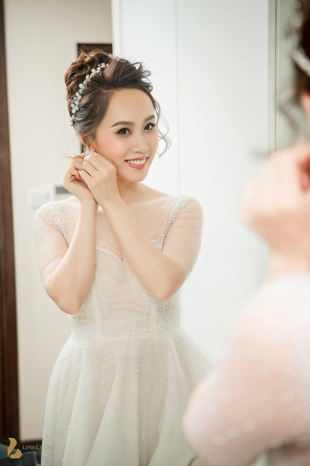 Toàn cảnh đám cưới ở Hà Nội của Giám đốc Nhà hát Kịch Hà Nội và hot girl 9X - Ảnh 2.
