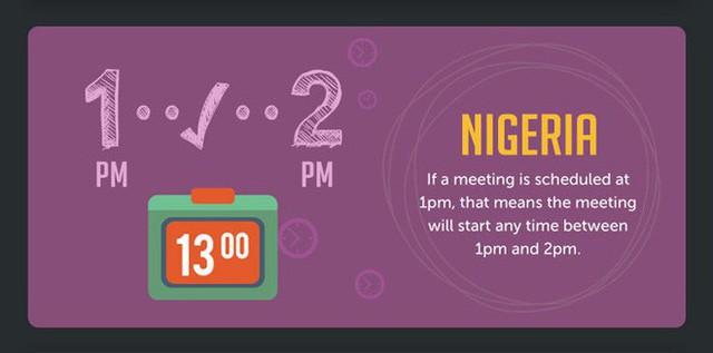 Khái niệm đúng giờ ở một số quốc gia khác nhau như thế nào? - Ảnh 6.