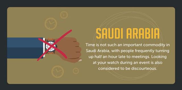 Khái niệm đúng giờ ở một số quốc gia khác nhau như thế nào? - Ảnh 7.