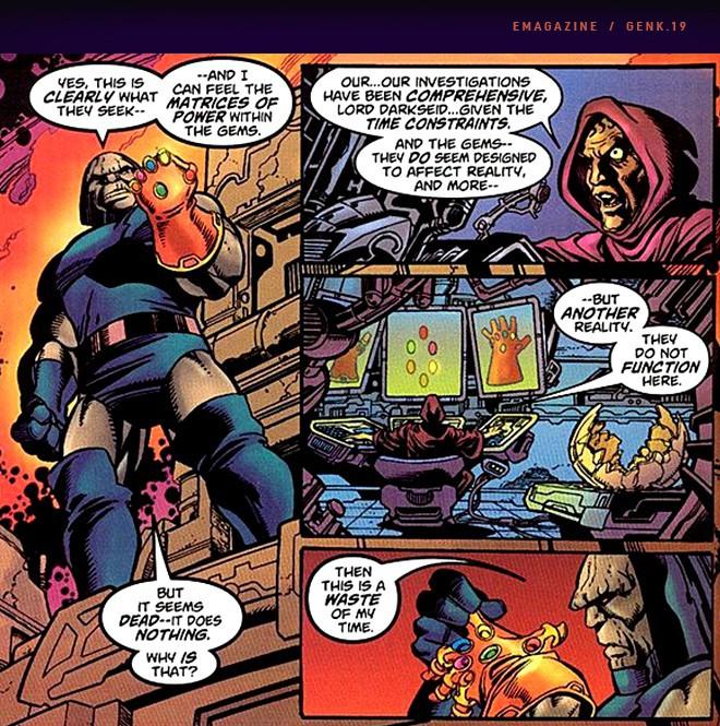 Thanos - Từ nhân vật vay mượn DC Comics đến vai phản diện tuyệt vời nhất trong lịch sử phim ảnh - Ảnh 8.