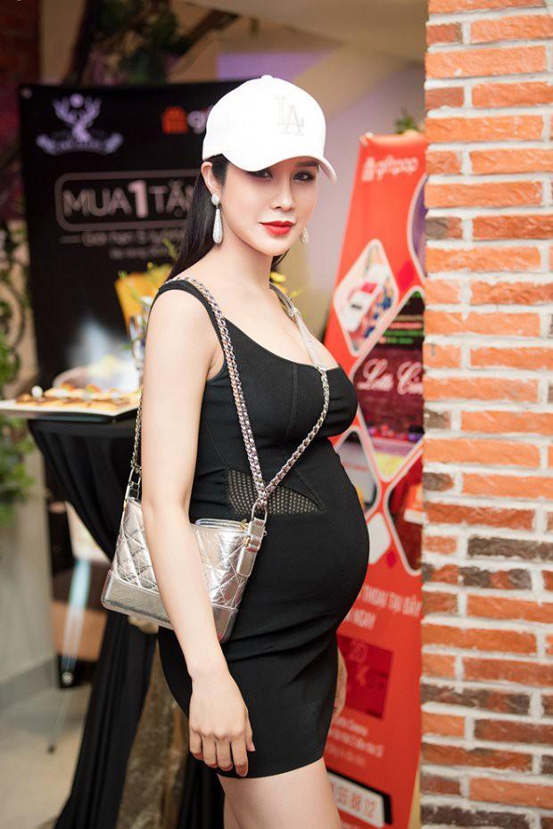Diệp Lâm Anh mang thai lần 2 dù con gái đầu chưa đầy 6 tháng tuổi? - Ảnh 6.