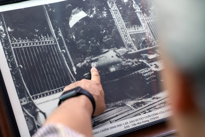 Ký ức ngày 30-4 tại Dinh Độc lập của những người lính xe tăng - Ảnh 4.