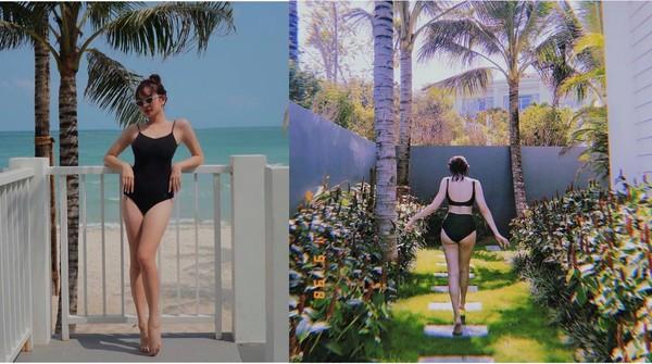 Hot girl Việt diện bikini gợi cảm đập tan ngày hè nắng nóng - Ảnh 4.
