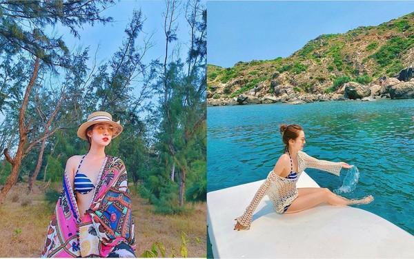 Hot girl Việt diện bikini gợi cảm đập tan ngày hè nắng nóng - Ảnh 1.