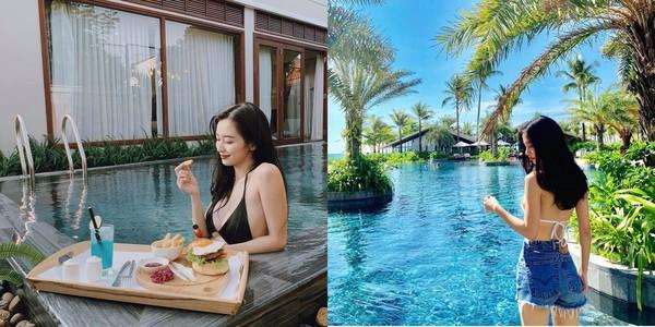 Hot girl Việt diện bikini gợi cảm đập tan ngày hè nắng nóng - Ảnh 3.