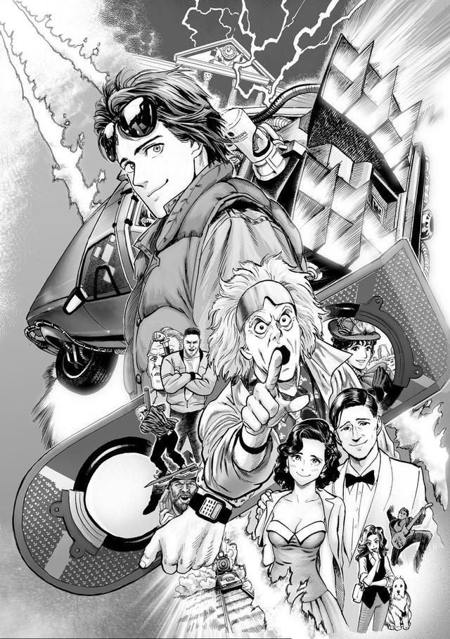 Biệt đội Avengers được vẽ bởi tác giả One Punch Man sẽ ngầu như thế nào? - Ảnh 8.