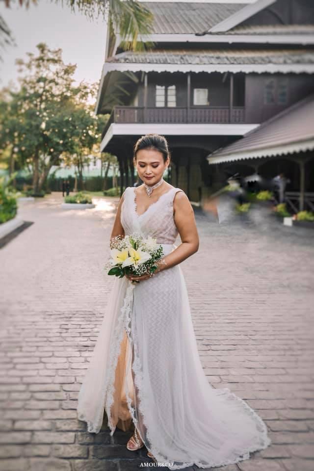 Toàn cảnh đám cưới được giấu kín của chồng cũ diva Hồng Nhung và diễn giả người Myanmar - Ảnh 3.