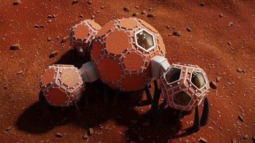 NASA công bố 3 thiết kế hàng đầu cho ngôi nhà lý tưởng trên sao Hỏa - Ảnh 1.