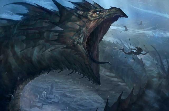 Hoàng tử địa ngục Leviathan: Thủy quái gây ám ảnh trong kinh thánh - Ảnh 2.