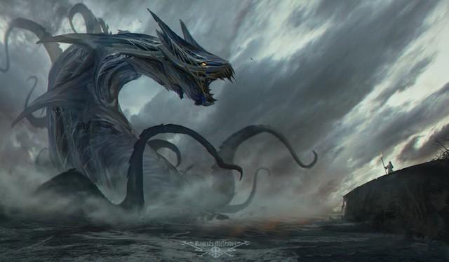 Hoàng tử địa ngục Leviathan: Thủy quái gây ám ảnh trong kinh thánh - Ảnh 3.