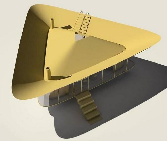 Cần gì phải ra biển tắm khi bạn có thể ngụp lặn ngay trên nóc nhà với ý tưởng thiết kế độc lạ này - Ảnh 4.