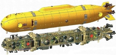 Siêu tàu ngầm chiến lược Belgorod của Nga và những đồn đoán - Ảnh 2.