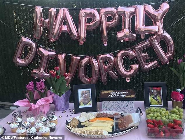14 năm đấu tranh không mệt mỏi mới ly dị được chồng, người phụ nữ hạnh phúc mở bữa tiệc ly hôn to hơn cả đám cưới để ăn mừng - Ảnh 4.