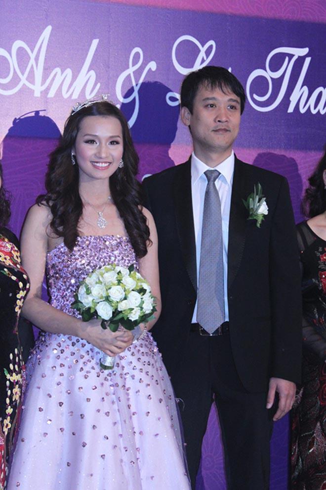Chồng doanh nhân lớn hơn 12 tuổi, ngại lộ diện trước đám đông của Lã Thanh Huyền là ai? - Ảnh 1.