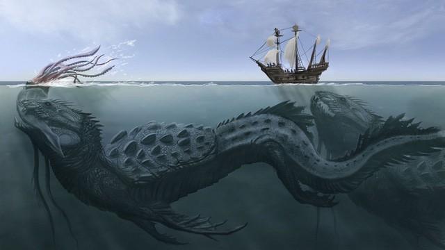 Kraken: Quái vật biển huyền thoại trong truyền thuyết Bắc Âu - Ảnh 1.