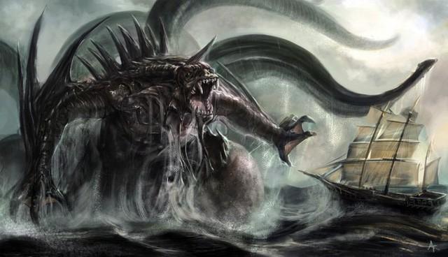 Kraken: Quái vật biển huyền thoại trong truyền thuyết Bắc Âu - Ảnh 2.