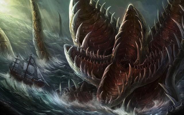 Kraken: Quái vật biển huyền thoại trong truyền thuyết Bắc Âu - Ảnh 4.