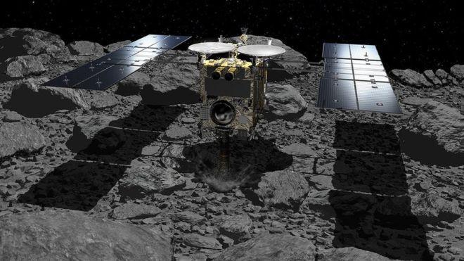 Tàu thăm vũ trụ Nhật Bản vừa thả bom lên một tảng thiên thạch nhưng tại sao họ lại làm thế? - Ảnh 1.
