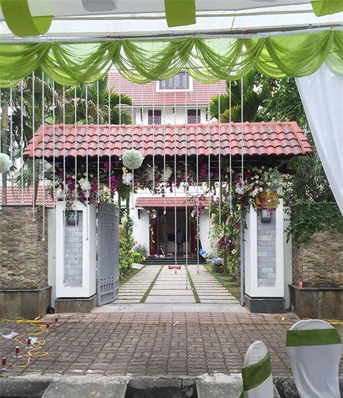 Biệt thự sang trọng của vợ chồng Á hậu Trà My ở phố nhà giàu tại Hải Dương - Ảnh 2.