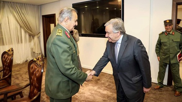 Thủ đô Libya nguy ngập, Mỹ khẩn cấp rút lui - Thương vong lớn, Liên hợp quốc ra yêu cầu đặc biệt - Ảnh 14.