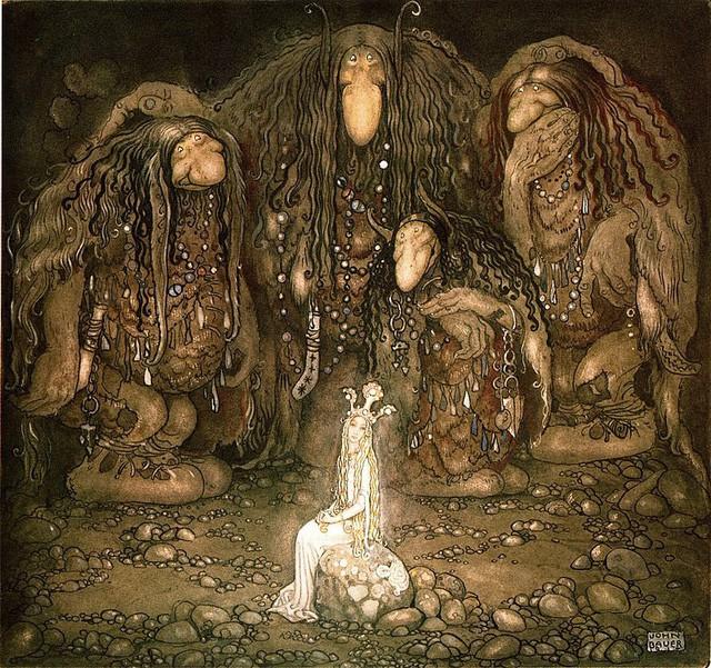Troll: Loài sinh vật tinh quái chỉ có trong truyền thuyết - Ảnh 2.