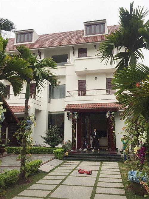 Biệt thự sang trọng của vợ chồng Á hậu Trà My ở phố nhà giàu tại Hải Dương - Ảnh 3.