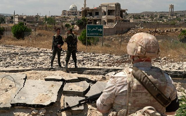 Chú chuột Israel và Gấu Mẹ Nga liệu có đụng độ vì Syria? - Ảnh 3.