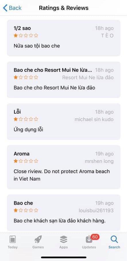Không thể review cho Aroma Resort Phan Thiết, dân mạng Việt ồ ạt trút giận lên TripAdvisor - Ảnh 3.