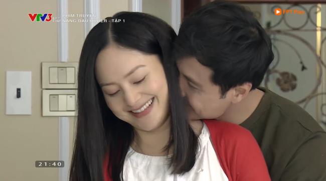 Nàng dâu order tập 1: Chưa có phim truyền hình Việt nào mà mới mở màn, cặp đôi chính đã hở ra là hôn thế này! - Ảnh 4.