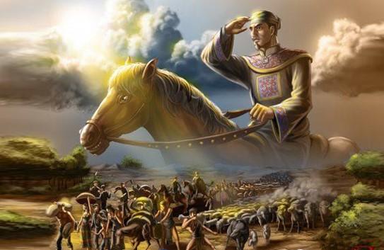 Một trong những triều đại hùng mạnh nhất lịch sử sụp đổ, Đại Việt bị chia cắt - Ảnh 4.