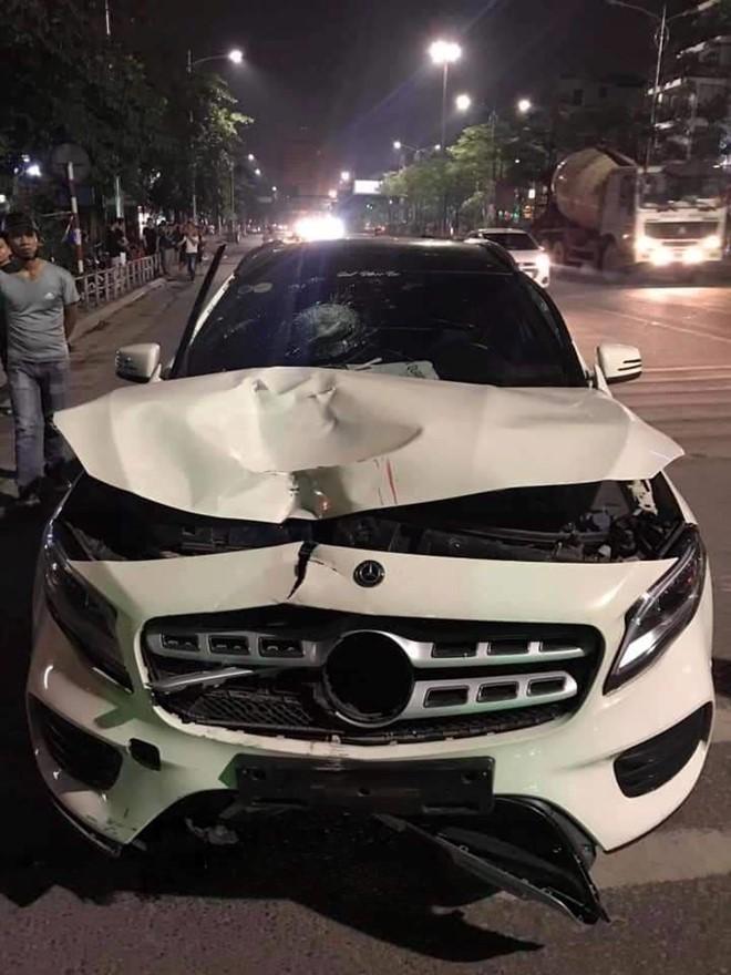 Xe Mercedes đâm chết 2 người ở hầm Kim Liên rồi bỏ chạy lúc nửa đêm  - Ảnh 1.