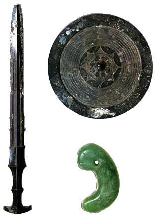 Tấm gương, thanh kiếm, viên ngọc - Ba báu vật bí ẩn trong lễ lên ngôi Nhật hoàng - Ảnh 2.