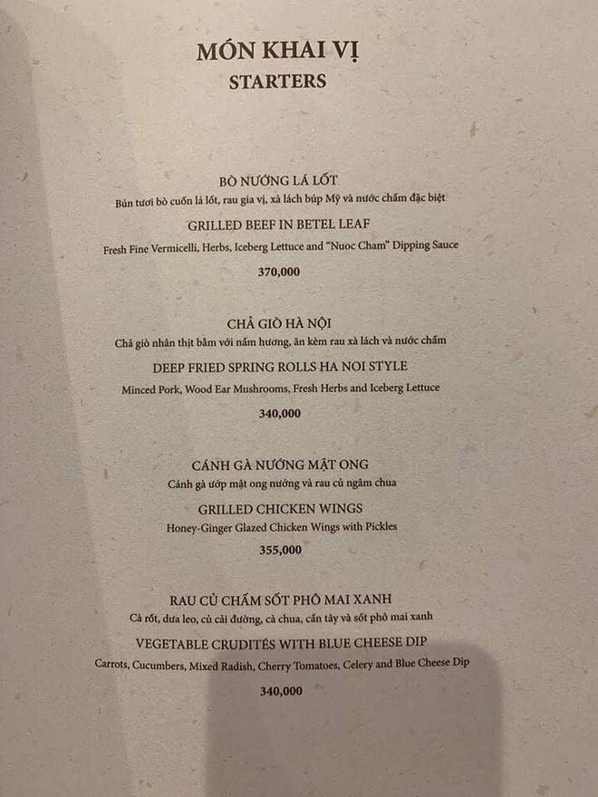 Menu hú hồn của nhà hàng tại Landmark 81: bát phở chọc trời có giá tận 920k - Ảnh 8.