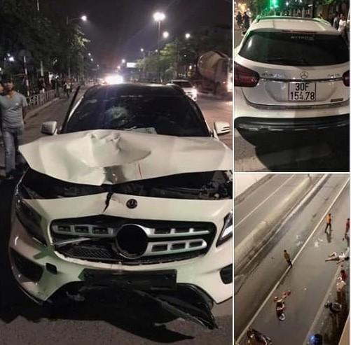 Phản ứng bất ngờ của tài xế Mercedes GLA gây tai nạn ở hầm Kim Liên khi biết 2 người chết - Ảnh 2.