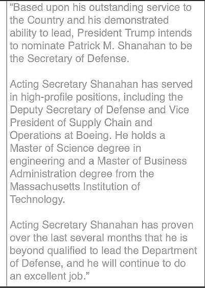 Quyền Bộ trưởng Quốc phòng Mỹ sắp chính thức nắm Lầu Năm Góc - Ảnh 2.