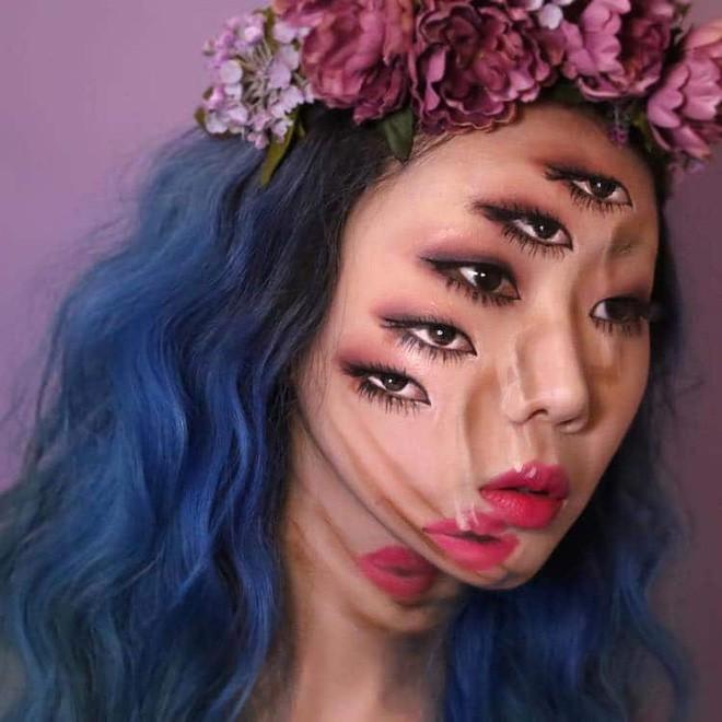 Bối rối với những khuôn mặt được trang điểm theo phong cách 3D đầy lú lẫn - Ảnh 12.