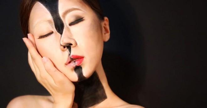 Bối rối với những khuôn mặt được trang điểm theo phong cách 3D đầy lú lẫn - Ảnh 13.