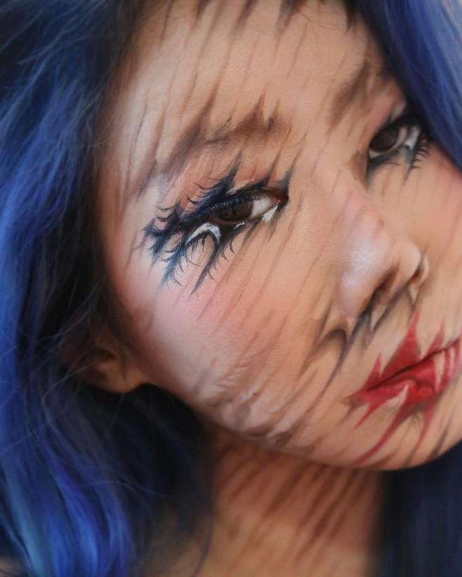 Bối rối với những khuôn mặt được trang điểm theo phong cách 3D đầy lú lẫn - Ảnh 14.