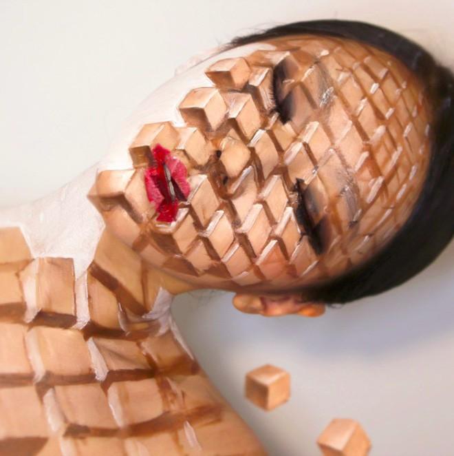Bối rối với những khuôn mặt được trang điểm theo phong cách 3D đầy lú lẫn - Ảnh 16.