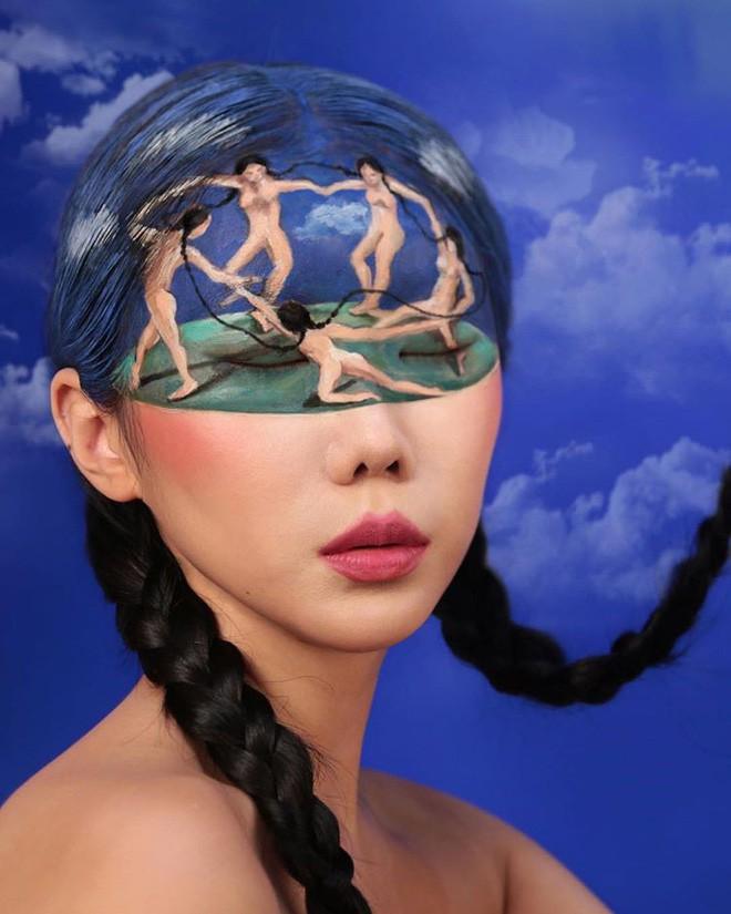 Bối rối với những khuôn mặt được trang điểm theo phong cách 3D đầy lú lẫn - Ảnh 18.