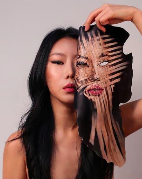Bối rối với những khuôn mặt được trang điểm theo phong cách 3D đầy lú lẫn - Ảnh 7.