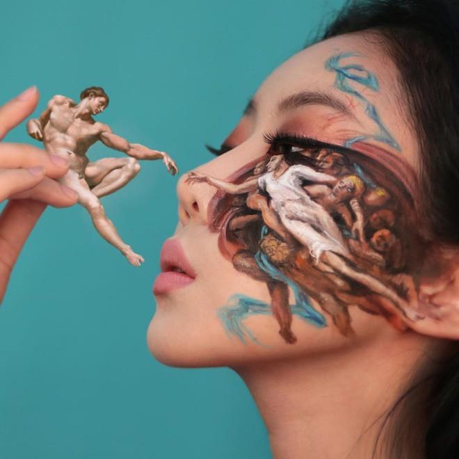 Bối rối với những khuôn mặt được trang điểm theo phong cách 3D đầy lú lẫn - Ảnh 9.