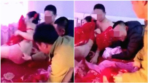 Cô dâu Trung Quốc bị đám khách nam lột đồ, cưỡng hôn trong đám cưới - Ảnh 2.