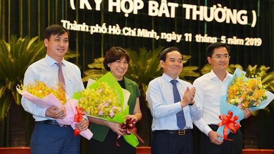 Ông Võ Văn Hoan và ông Ngô Minh Châu làm Phó Chủ tịch UBND TPHCM - Ảnh 2.
